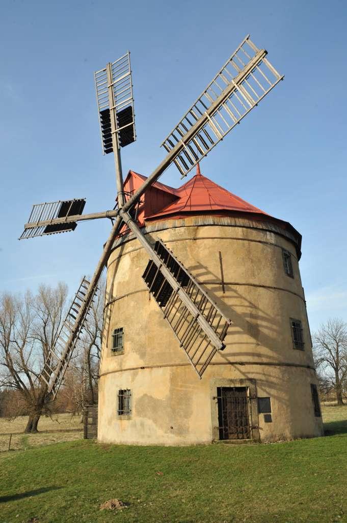 Horní Podluží - větrný mlýn