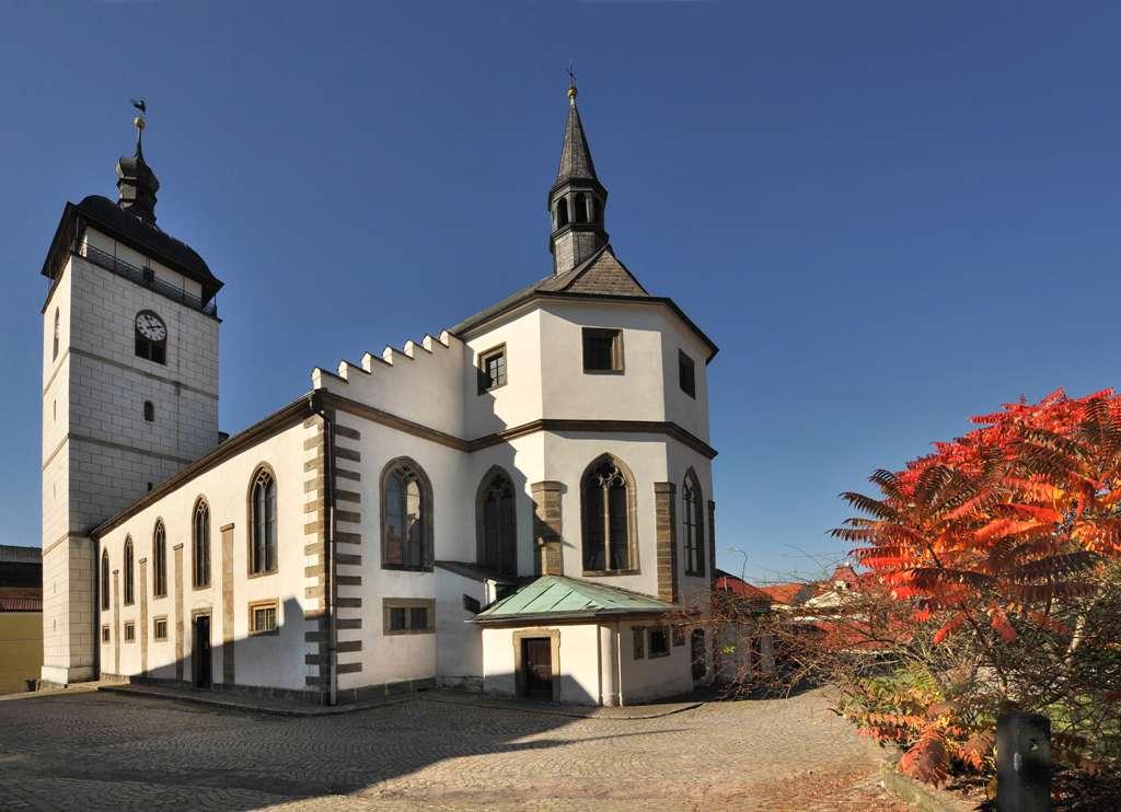 Česká Kamenice - kostel